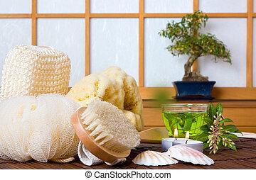 Spa and herbal tea