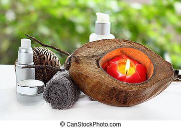 Spa and massage treatment.