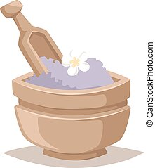 Spa aroma vector icons. - Asian spa icons and aroma oil spa...