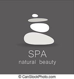 spa, beauté naturelle, gabarit, logo
