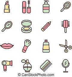 Spa & beauty icons