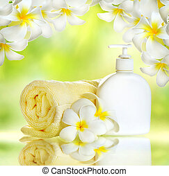 Spa. Body care. Lotion