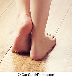 spa, compositions, de, excitado, femininas, pernas, e,...