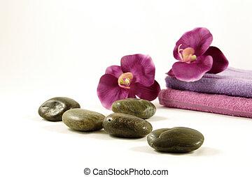 spa, conceito, relaxamento