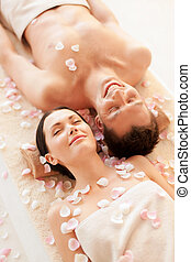 spa, couple