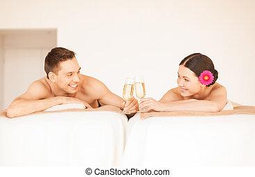 spa, couple
