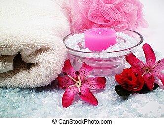 spa, décor