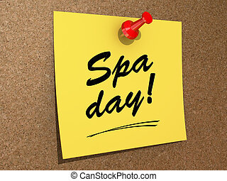 spa, day!