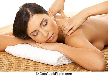 spa, e, massagem