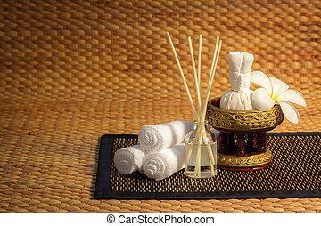 spa, ensemble, masage