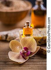 spa, essentiële olie