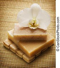 spa, fait main, naturel, savon