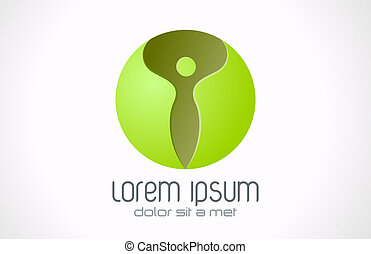 SPA Health beauty sphere icon.