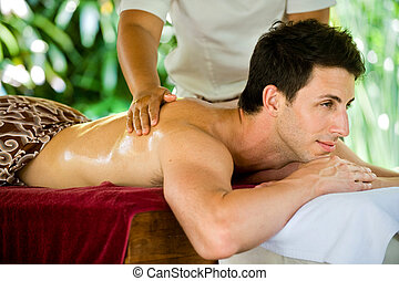 spa, homme