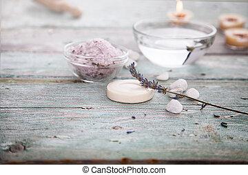 spa, lavendel