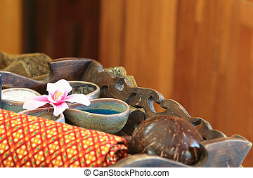 Spa massage setting