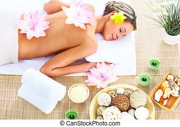 spa, massagem