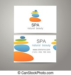 spa natural beauty - Spa - a beauty salon. Stone pyramid as...