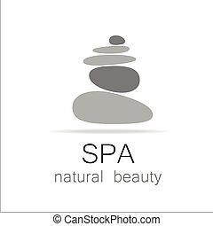 spa natural beauty logo template