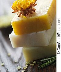 spa., naturale, sapone
