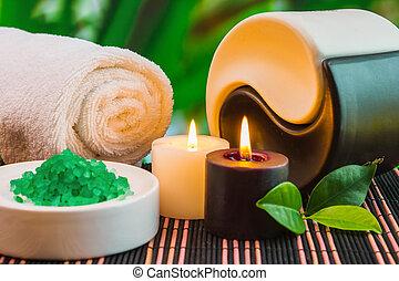spa, outils, accessoires, traitements