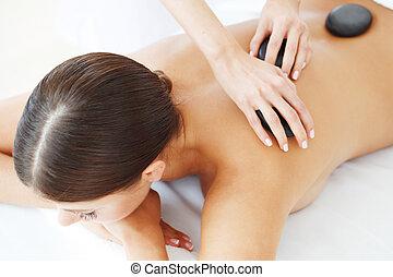 spa, pierre chaude, masage