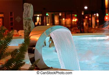 spa, piscine, relaxation