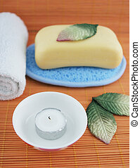 Spa products - health and beauty