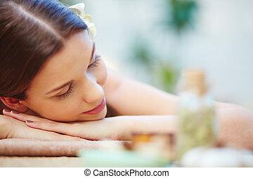 spa, relaxamento