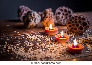 Spa relaxation setting