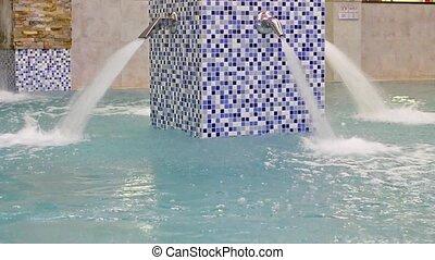 SPA-relaxing in warm bubble bath