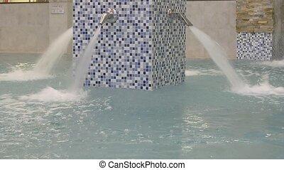spa-relaxing, masage, eau, piscine, vide, natation