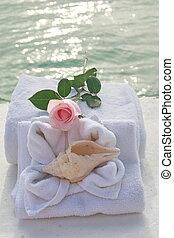 spa, romantique, jour
