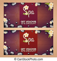 Chinese vector certificate template chinese charming vector spa salon gift certificate wood texture vector illustration yelopaper Gallery