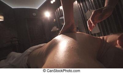 spa, salon, masseren