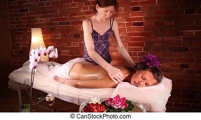 spa, santé, masage