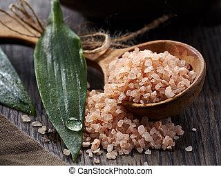 Spa. Sea salt