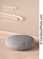 spa, stein, zen, oder, wellnes