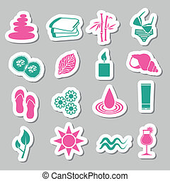 spa stickers