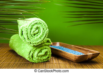 Spa still life with zen