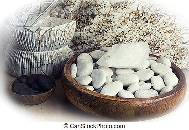 Spa. Stone Massage