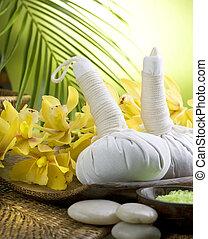 spa, thailändisch, massage