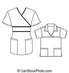 Spa uniform vector