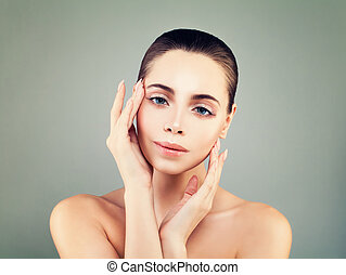 Spa Woman. Healthy Skin, Perfect Face