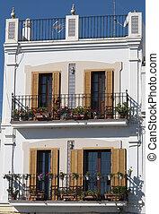 spaanse , balkon