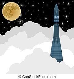 space-2, lançamento foguete