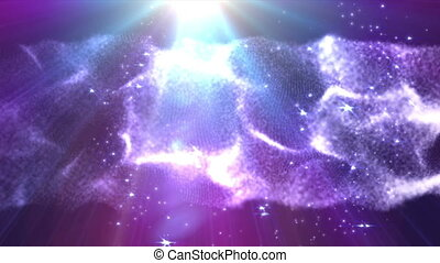 space abstract light flare