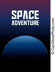 Space Adventure Background