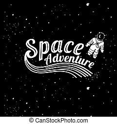 space adventure card