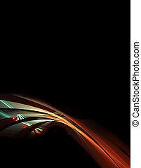 space age highway illustration - information superhighway ...